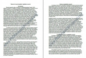 PhD Research Proposal Sample