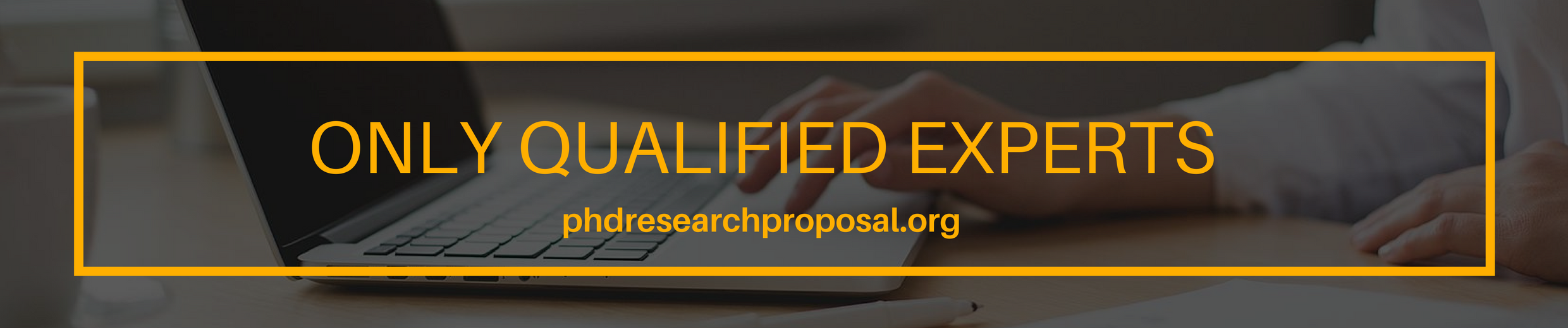 best PhD research proposal writing service