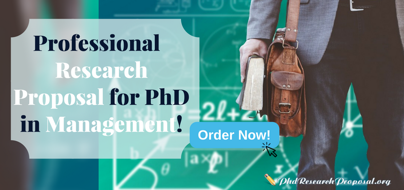 writing research proposal for phd in management